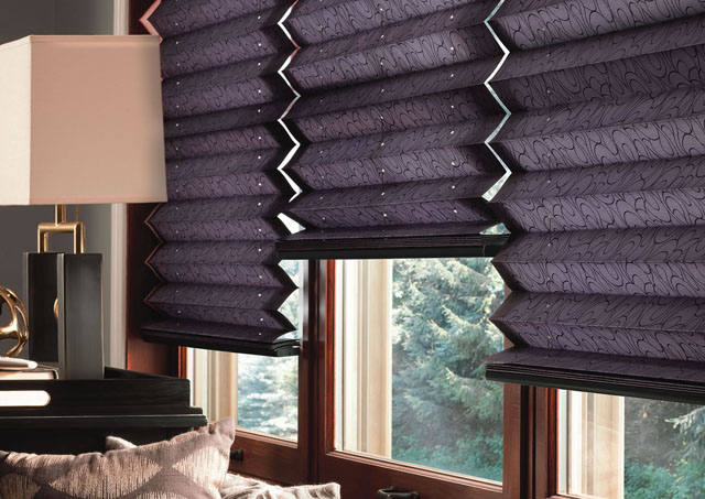 1-pleated shades