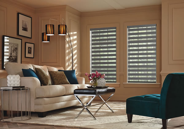 Layered And Dual Shades Express Blinds Shutters Shades