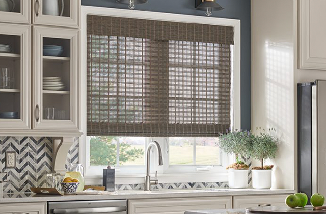 woven wooden shades in knoxville